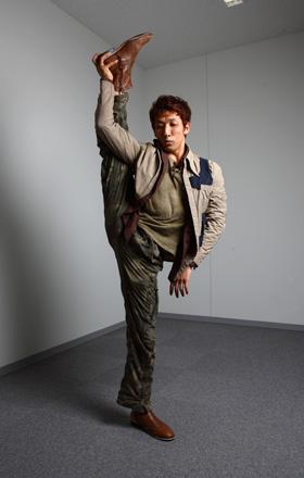 佐々木大(ささき・だい) 東大阪市出身。バレエダンサー