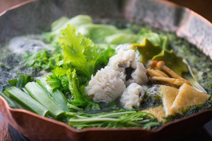 1日限定4食の朝食「鱧鍋定食」