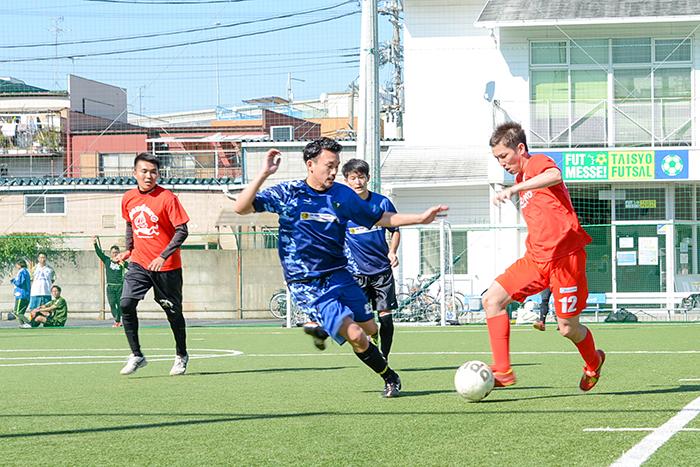 5人制サッカー『F5WC』の関西エリア予選