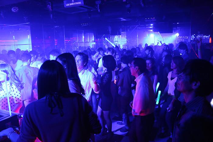 多くの人が訪れた「kitsune kyoto」のレセプション・パーティー