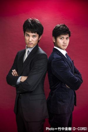 藤浪晋太郎(左)と大谷翔平