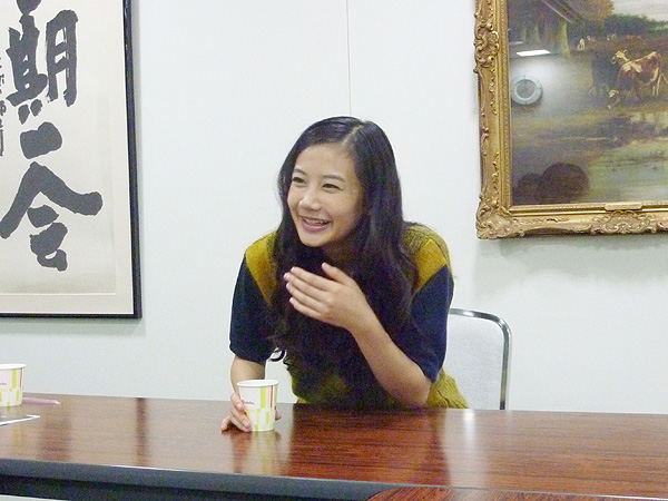 「大阪は大好き!」と語る清水富美加