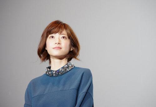 舞台挨拶に登場した女優・上野樹里