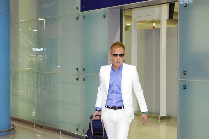 関西国際空港に降り立ったじゅんいちダビッドソン