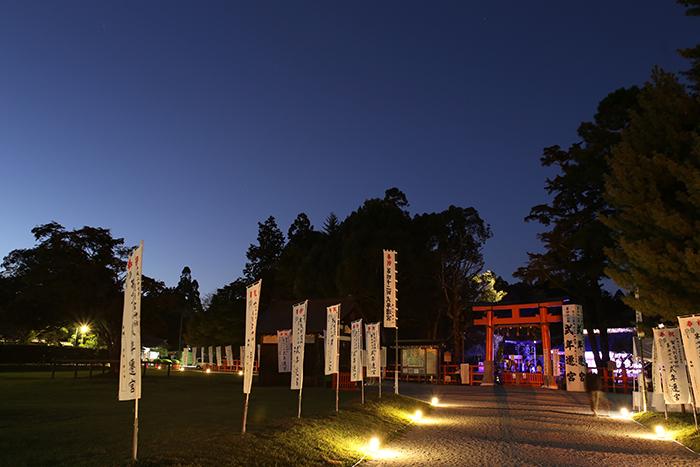 42回目の遷宮の儀式を迎える上賀茂神社