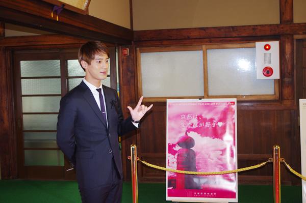 ソンモは、主演映画『僕たちの日記』を日本語でPR