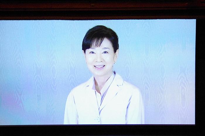 VTR出演した吉永小百合