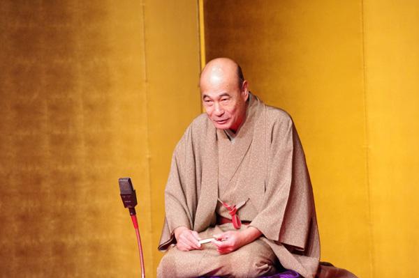 最後の市民寄席で公演を行った桂雀三郎