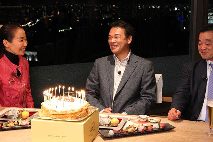 退任後、テレビ初出演となった和田オーナー付シニア・アドバイザー