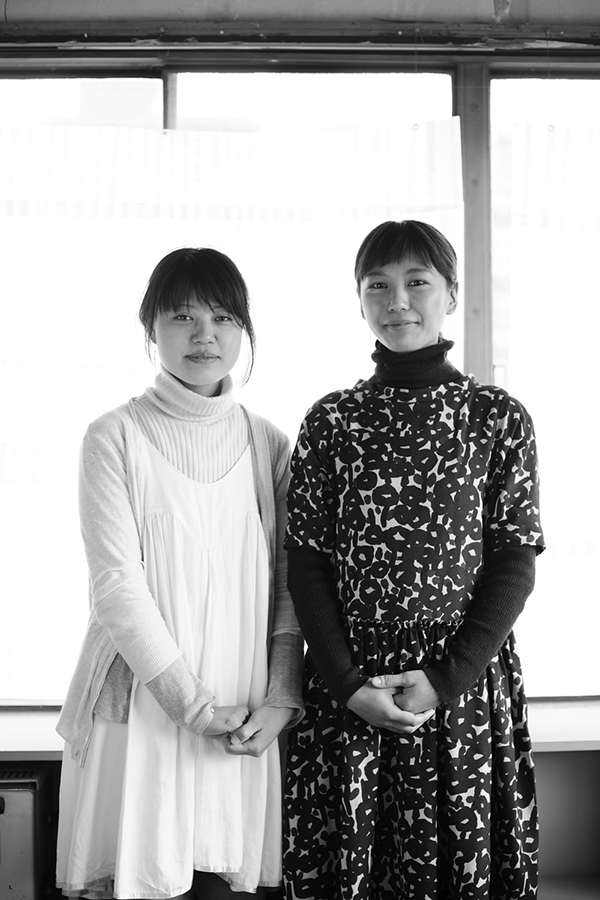 左から杉山さん、内田さん