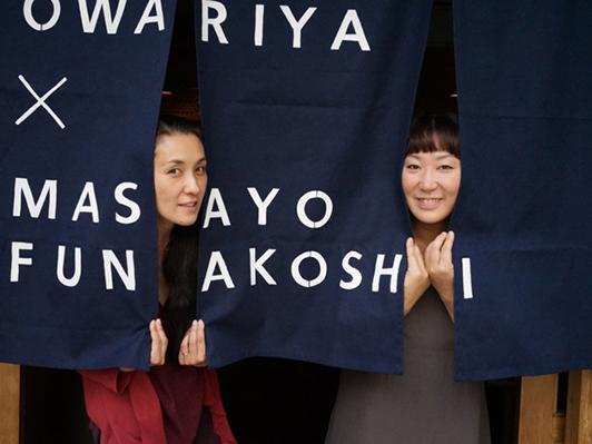 稲岡さんがパーソンズ美術大学で写真を学んでいた同時期、船越さんも同じくN.Yの美術大学で彫刻を学んでいたそう。帰国してから京都で出会って、意気投合