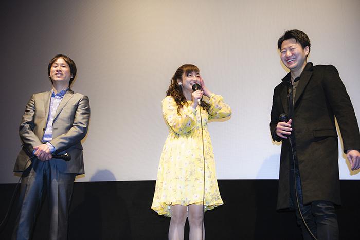 平愛梨は撮影現場同様、舞台挨拶でもムードメーカー