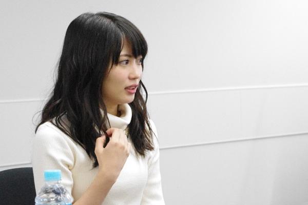 初舞台に挑戦する志田未来、記者会見にて
