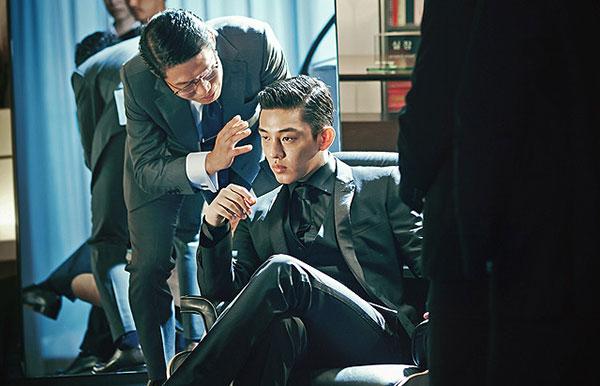 劇中の一場面、ユ・アイン演じる御曹司テオ