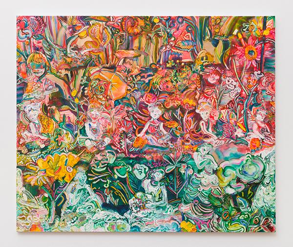 髙木智子《ベップ -25-》キャンバスに油彩 162×194cm 2015 撮影/表恒匤