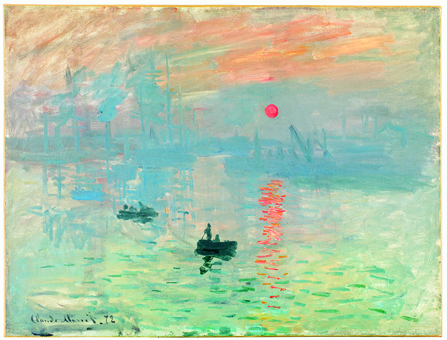 クロード・モネ 《印象、日の出》 1872年 Musée Marmottan Monet, Paris © Christian Baraja 展示期間2016年3月1日(火)~3月21日(休・月)