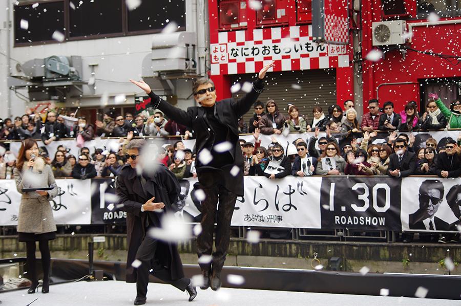 イベント最後には紙吹雪も、4,000人の観客を終始楽しませた