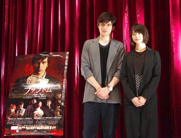城田優(左)と山下リオ
