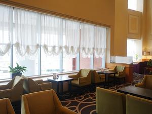 ホテルならではのゆったりとした空間