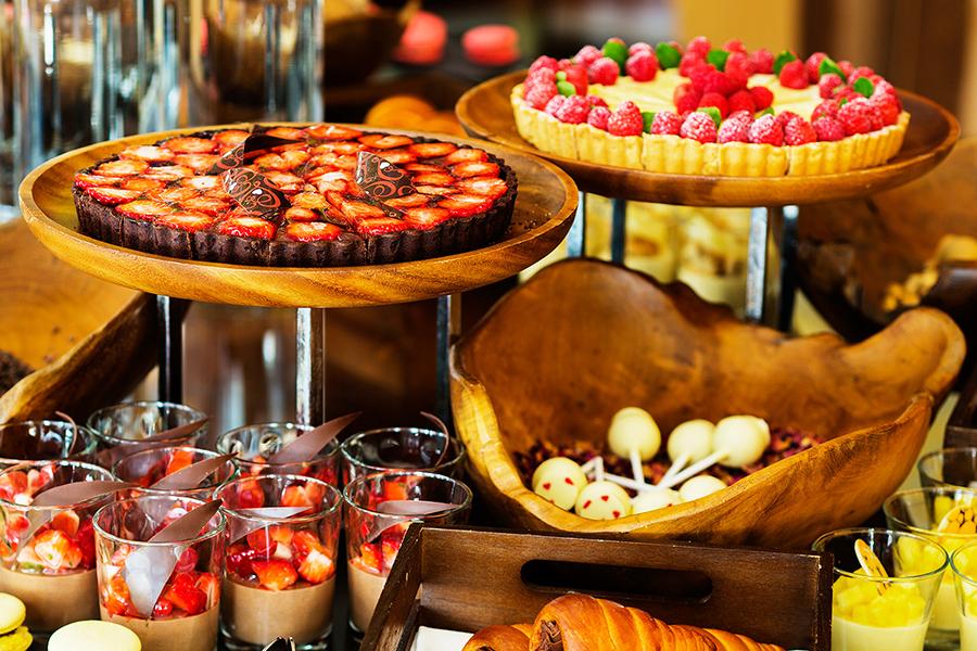 インターコンチネンタルホテル大阪は、フランスのチョコレートと一緒に