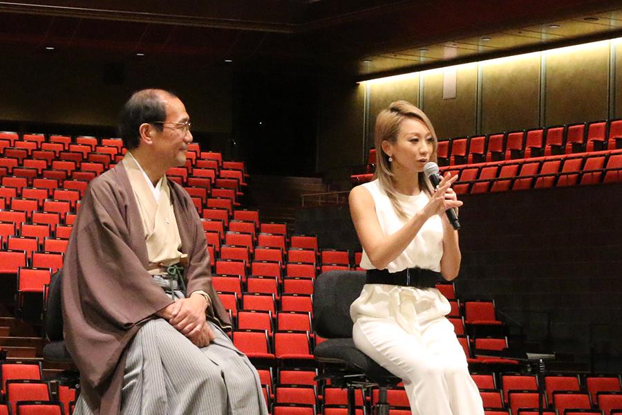 京都時代の思い出を語る倖田來未