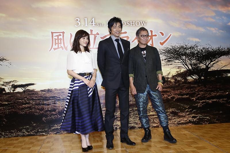 日本映画として初の本格アフリカロケを行った「風に立つライオン」