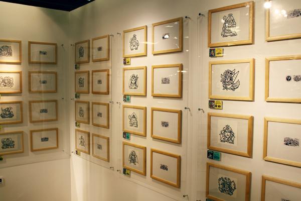 原画78点を含む110点が展示(17日・大阪市内)