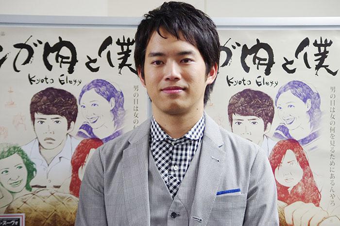 会見に出席した俳優・三浦貴大