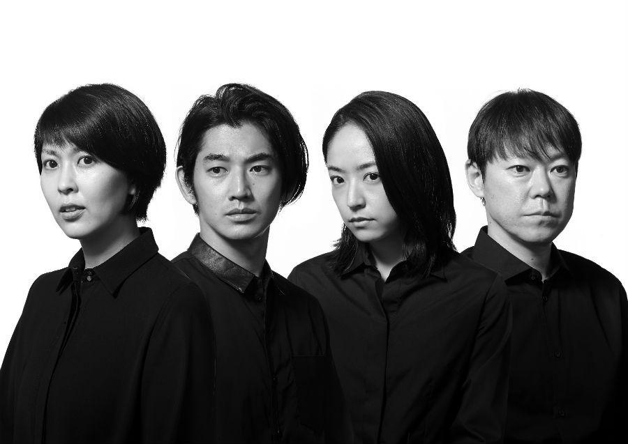 NODA・MAP第20回公演 『逆鱗』より、左から松たか子、瑛太、井上真央、阿部サダヲ