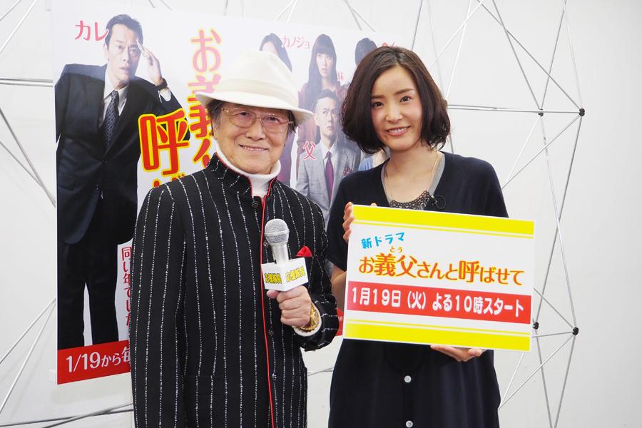 ドラマについてトークした浜村淳(81)と蓮佛美沙子(24)