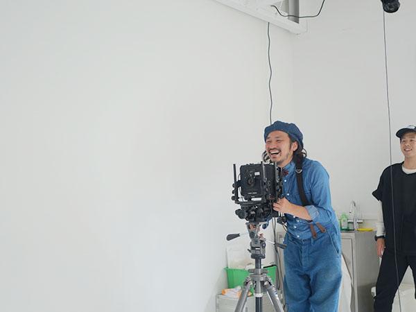 カメラマンの竹田俊吾さん
