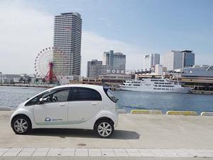 4人乗りのI-MIEV(三菱自動車)