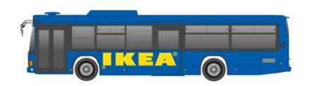 大阪・キタから気軽に運んでくれる「IKEA鶴浜 大正 Express バス」
