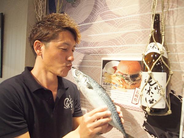 オーナーの右田さん38歳(サバ読んでます)