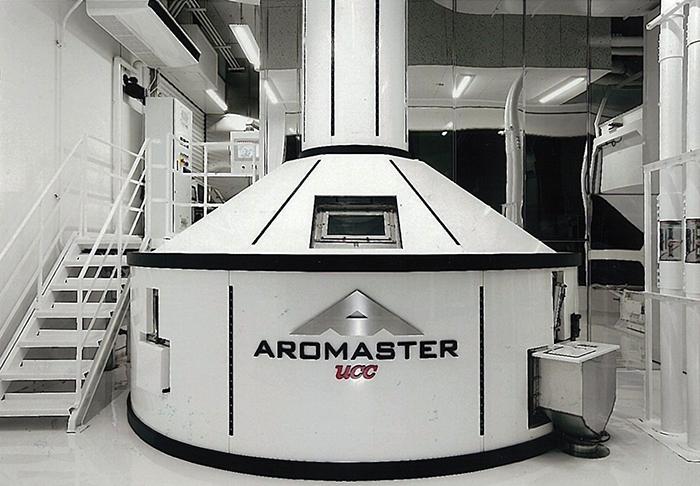 新型焙煎機「AROMASTER(アロマスター)」
