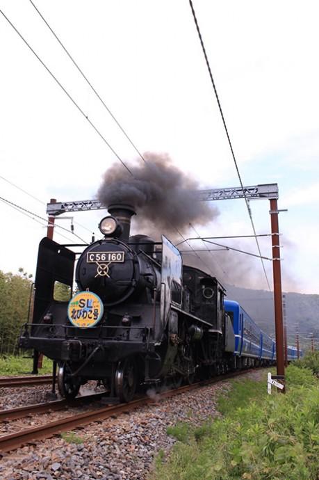 蒸気機関車「SL北びわこ号」