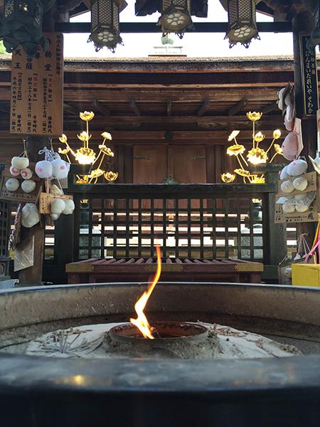 国宝の弥勒菩薩が安置されている彌勒堂