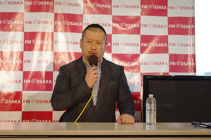 FM大阪の特命局長に就任したお笑い芸人・ケンドーコバヤシ