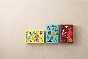 大阪出身の人気イラストレーターyamyamのキュートなイラスト3種類(各々数量に限りあり)