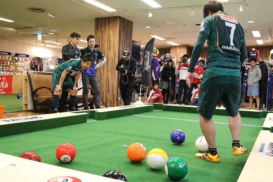 元フットサル日本代表選手らも参加