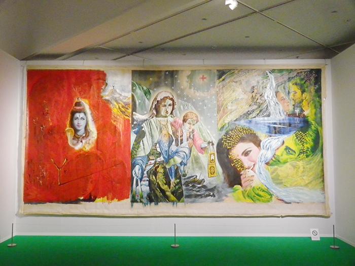 2階展示室、横尾忠則《Y+T》 1991年