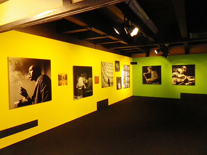 「A Vision of Jazz: フランシス・ウルフとブルーノート・レコード」展より(嶋臺ギャラリー)