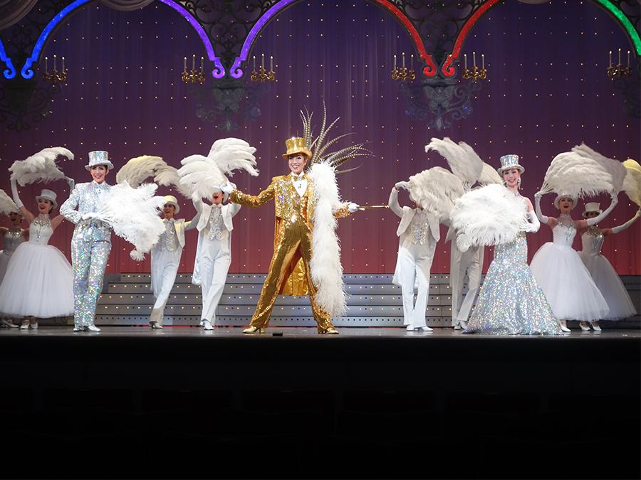 演出家・野口幸作の宝塚大劇場デビュー作となるショー・スペクタキュラー『THE ENTERTAINER!』