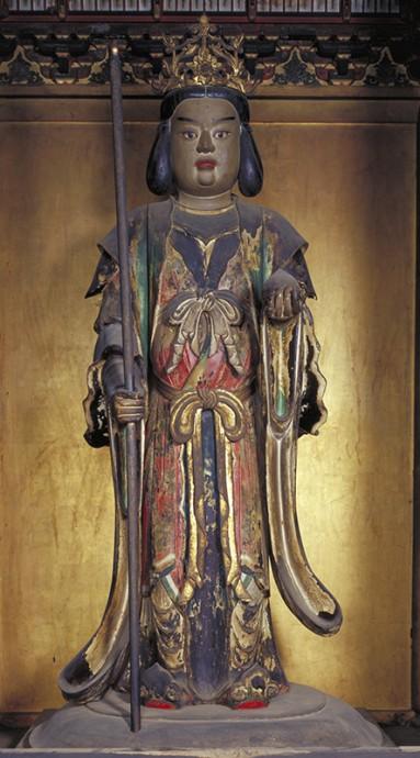 重要文化財 雨宝童子立像 長谷寺蔵(初出品)