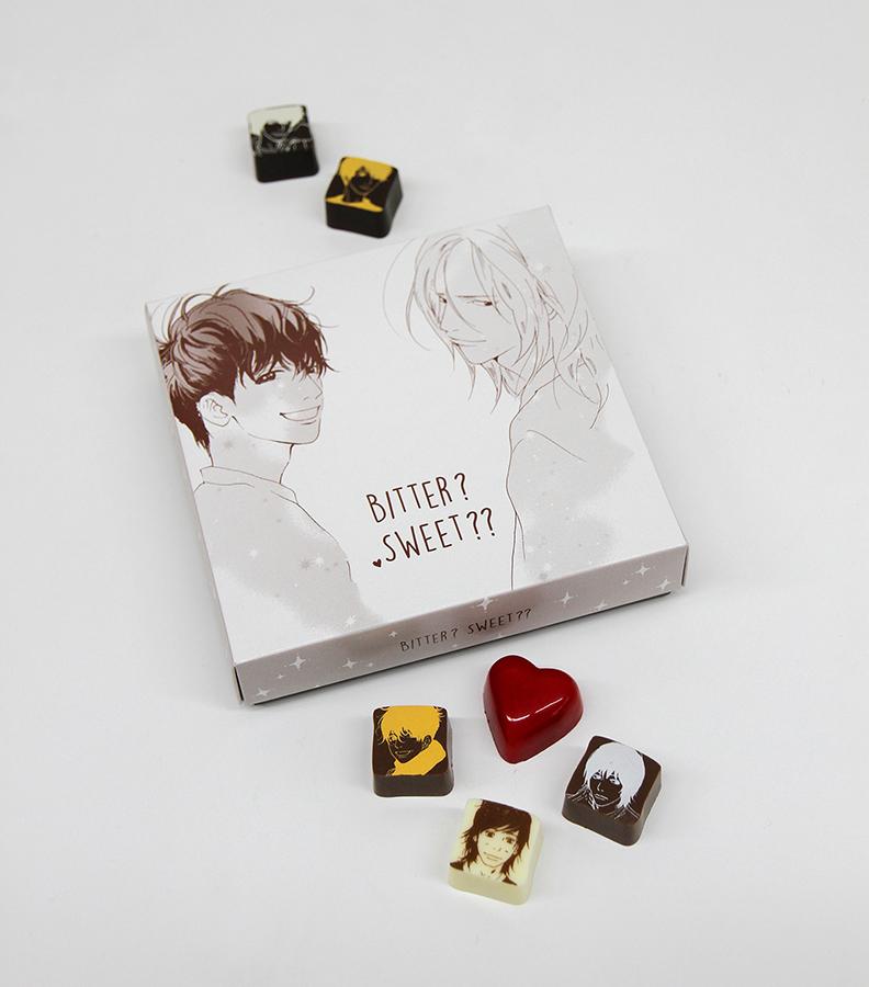 日本全店で2000個限定のチョコとなる、9個入り1,944円。(C)いくえみ綾/集英社 (C)いくえみ綾/ホーム社