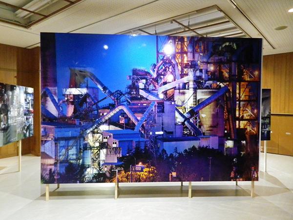 「魅せる工場展」会場風景。撮影場所は糸魚川市