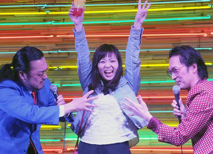 なりきり撮影会に参加した後藤美和子さん(大阪在住・27歳)。胸タッチをされそうになるも「楽しかったです!!」と満面の笑み