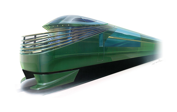 2017年春に運行が予定されている寝台列車「トワイライト エクスプレス 瑞風(みずかぜ)」