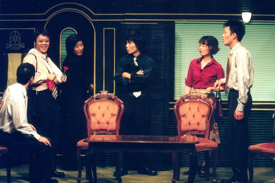 舞台『約三十の嘘』は、椎名桔平、中谷美紀主演で映画化もされた 撮影/谷古宇正彦