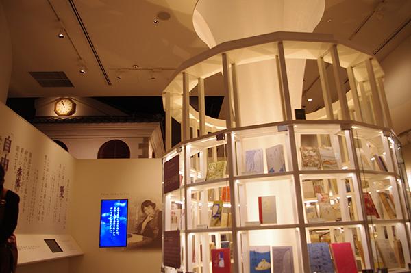 2階の「与謝野晶子記念館」